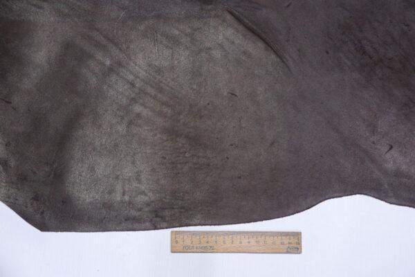 Кожа КРС краст, коричневый, 36 дм2.-1-595