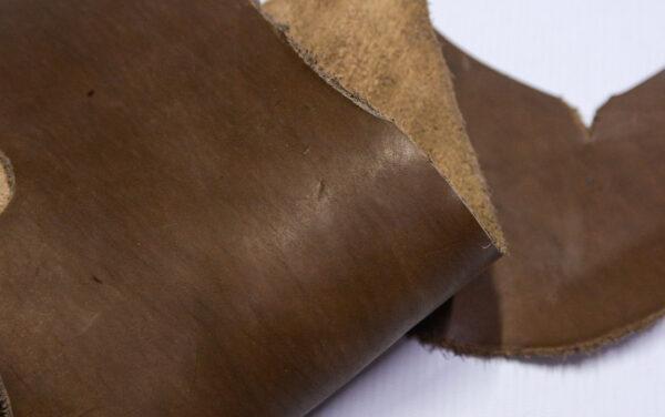 Кожа КРС краст, светло коричневый, 13 дм2.-1-597