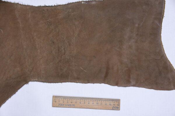 Кожа КРС краст, коричневый, 16 дм2.-1-601