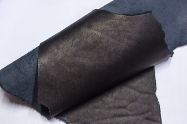 Кожа КРС краст, черный, 15 дм2.-1-609