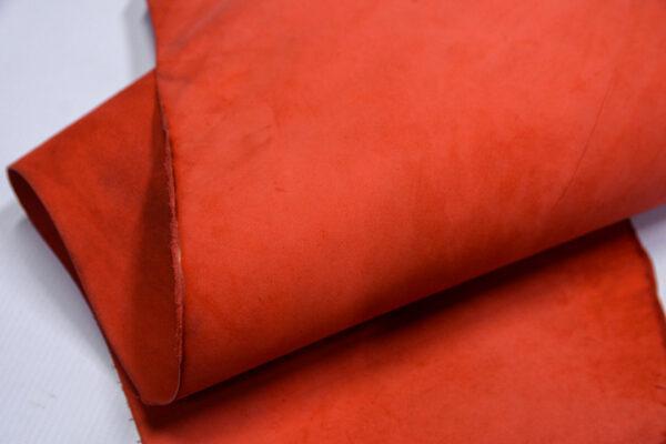 Нубук КРС , красный, 34 дм2.-1-611
