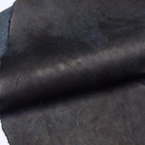 Кожа КРС краст, черный, 34 дм2.-1-613