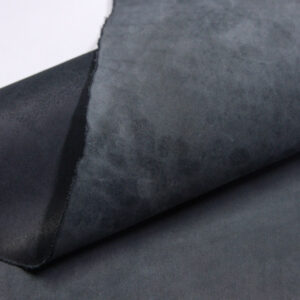 Нубук КРС , черный, 44 дм2.-1-614