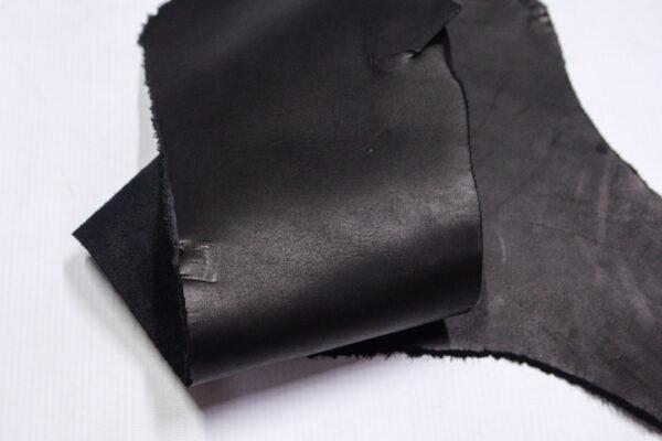 Кожа КРС краст, черный, 14 дм2.-1-617