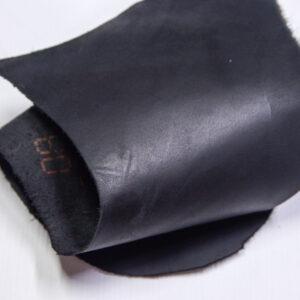 Кожа КРС краст, черный, 8 дм2.-1-618