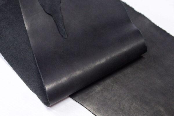 Кожа КРС краст, черный, 22 дм2.-1-626