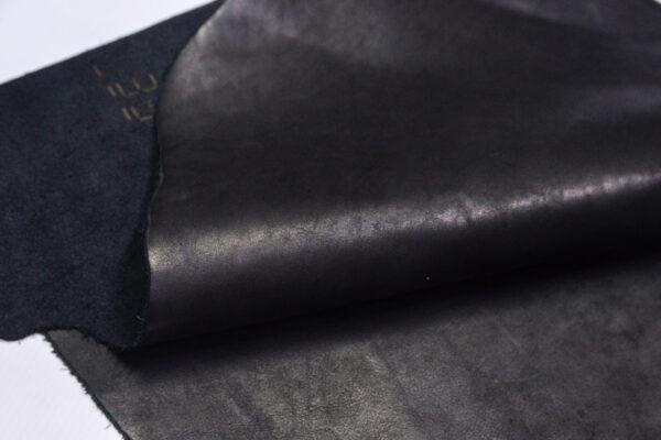 Кожа КРС краст, черный, 33 дм2.-1-627