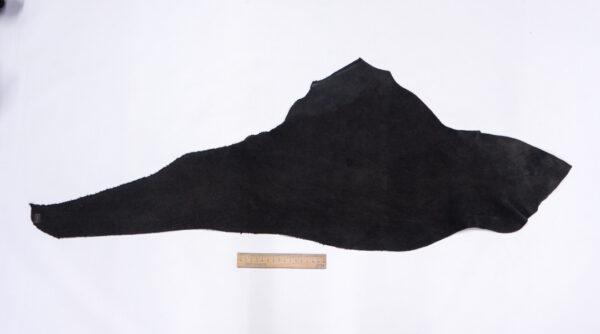 Нубук КРС , черный, 19 дм2.-1-630