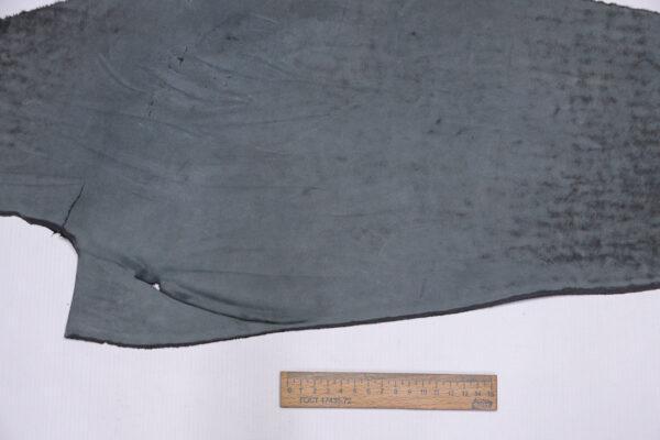 Нубук КРС , серый, 16 дм2.-1-636