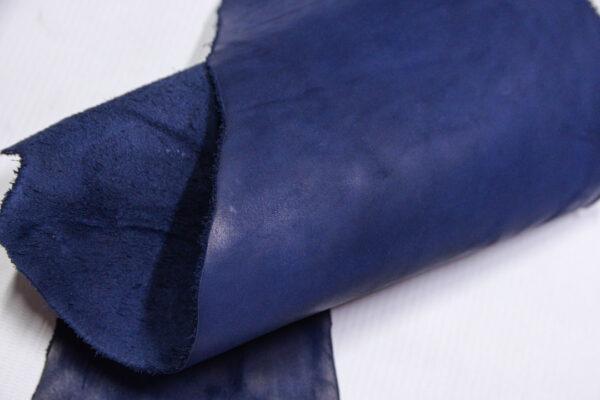 Кожа КРС Крейзи Хорс, синий, 7 дм2.-1-651
