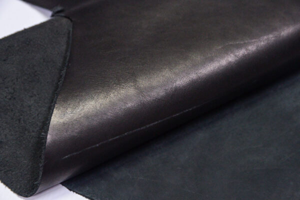 Нубук КРС + краст, черный, 33 дм2.-1-660