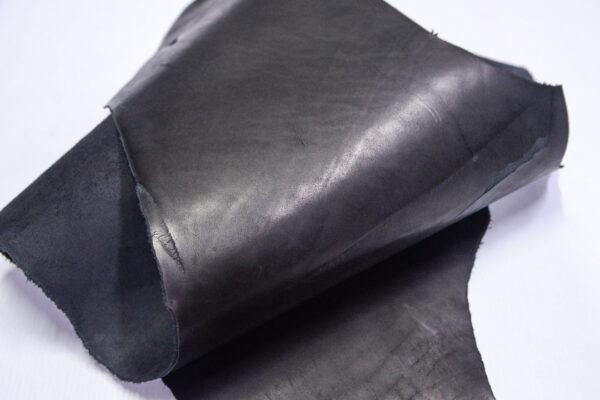 Кожа КРС краст, черный, 31 дм2.-1-667