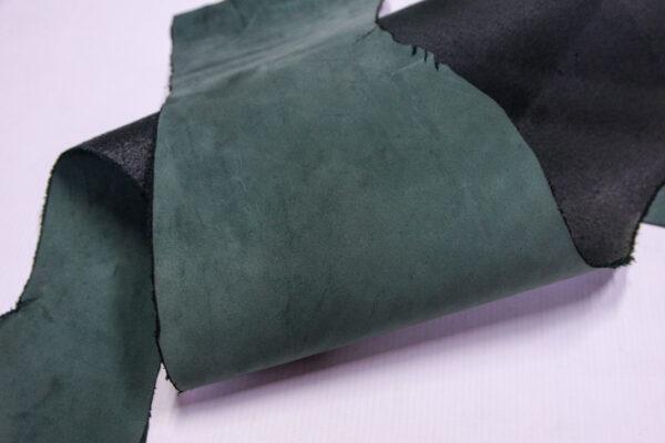 Нубук КРС, зеленый, 28 дм2.-1-669