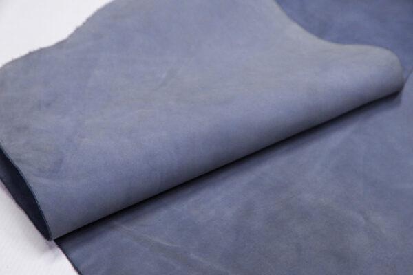 Нубук КРС, серо-голубой, 39 дм2.-1-670