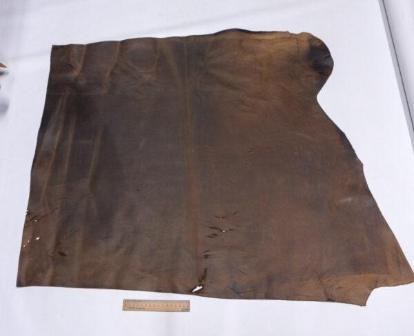 Кожа КРС Крейзи Хорс, коричневая, 70 дм2.-1-672