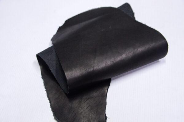 Кожа КРС краст, черная, 10 дм2.-1-673