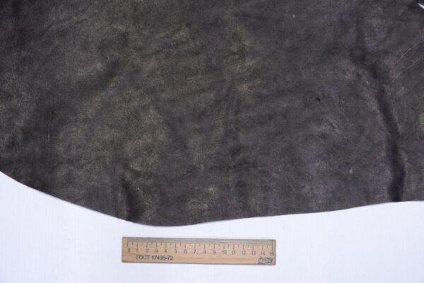 Кожа КРС краст, черная, 35 дм2.-1-677