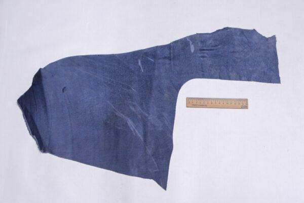 Нубук КРС, синий, 16 дм2.-1-681
