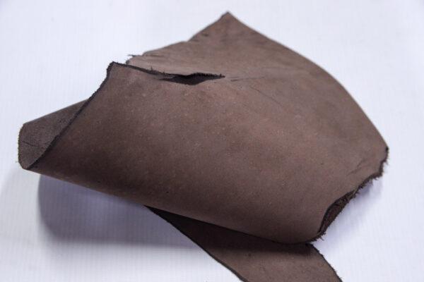 Нубук КРС, коричневая, 8 дм2.-1-686