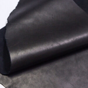 Кожа КРС краст, черная, 25 дм2.-1-689