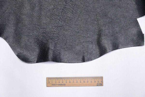 Кожа КРС флотар, черная, 15 дм2.-1-692