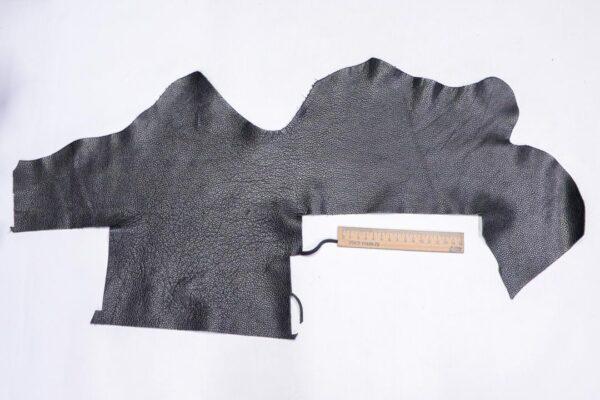 Кожа КРС флотар, черная, 15 дм2.-1-695