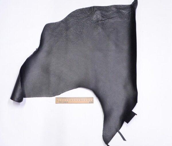 Кожа КРС флотар, черная, 22 дм2.-1-696