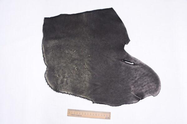 Кожа КРС краст, черная, 14 дм2.-1-700