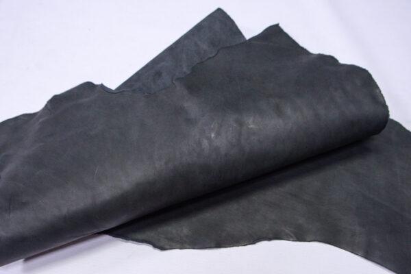 Кожа КРС краст, черная, 42 дм2.-1-706