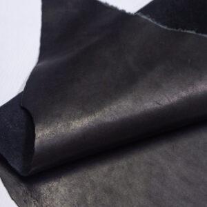 Кожа КРС краст, черная, 18 дм2.-1-707