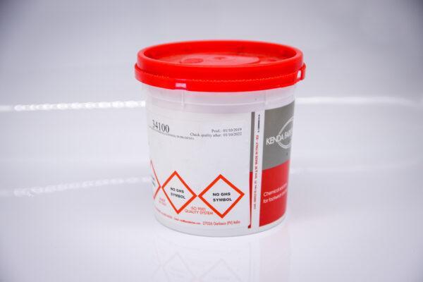 Финишный матовый крем для кожи Kenda Farben Grease Mat (бесцветный) 100 гр.