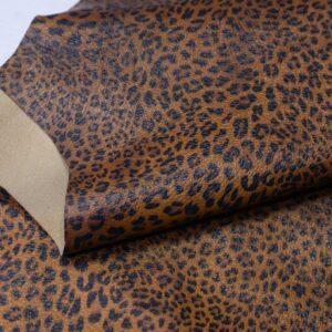 Кожа МРС с принтом, леопардовая, 36 дм2, Russo di Casandrino S.p.A.-110572