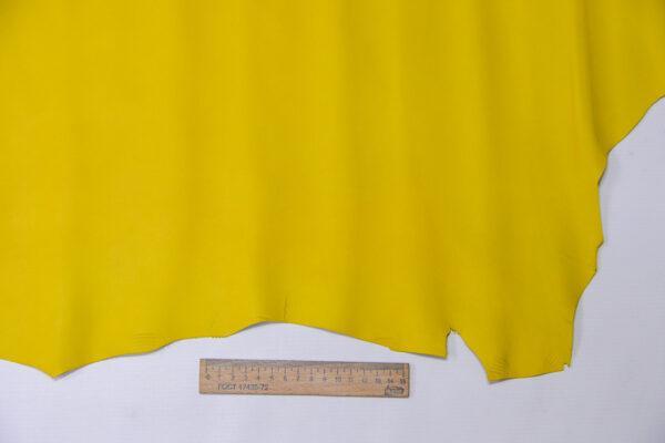 Кожа МРС, желтая, 49 дм2, Russo di Casandrino S.p.A.-110577