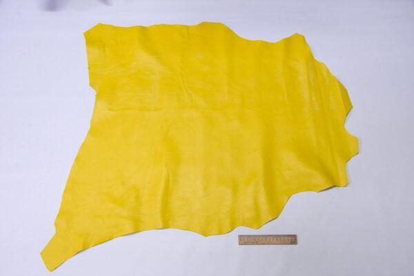 Кожа МРС, желтая, 52 дм2.-110578