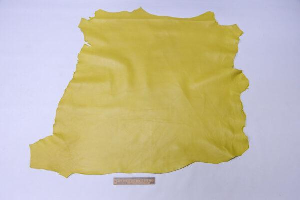 Кожа МРС, светло-горчичная, 56 дм2, Conceria Gaiera GIOVANNI S.p.A.-110580