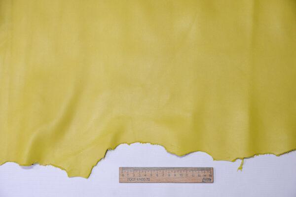 Кожа МРС, светло-горчичная, 51 дм2, Conceria Gaiera GIOVANNI S.p.A.-110581