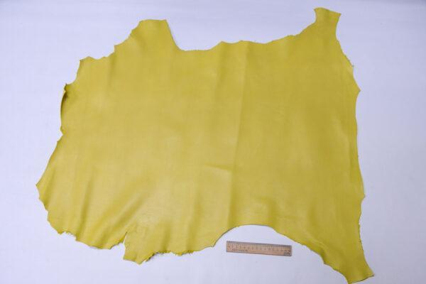 Кожа МРС, светло-горчичная, 50 дм2, Conceria Gaiera GIOVANNI S.p.A.-110582