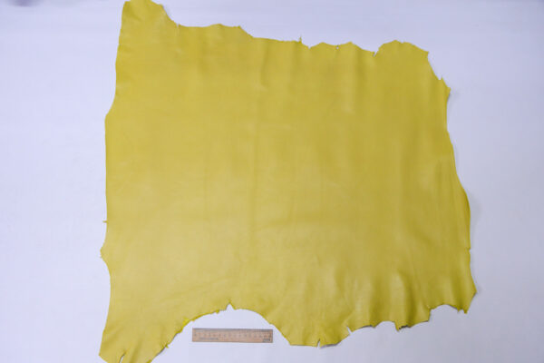 Кожа МРС, светло-горчичная, 56 дм2, Conceria Gaiera GIOVANNI S.p.A.-110583