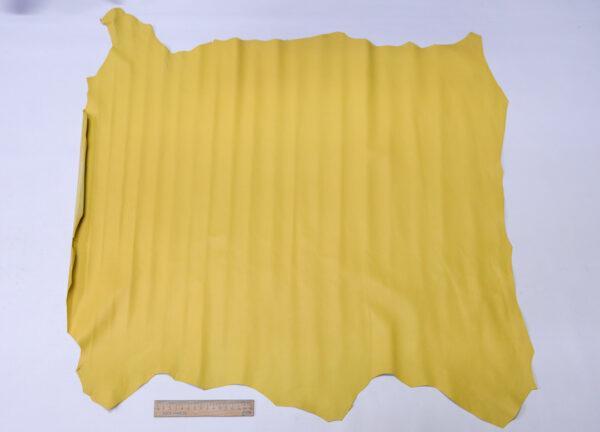Кожа МРС, бледно-желтая, 56 дм2, Russo di Casandrino S.p.A.-110585