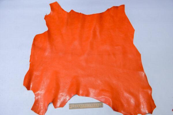 Кожа козы, оранжевая, 32 дм2, Russo di Casandrino S.p.A.-110599