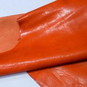 Кожа козы, оранжевый, 32 дм2, Russo di Casandrino S.p.A.-110600