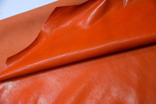 Кожа козы, оранжевый, 28 дм2, Russo di Casandrino S.p.A.-110601