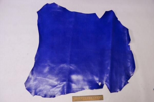 Кожа МРС, ярко синяя, 27 дм2, Russo di Casandrino S.p.A.-110608