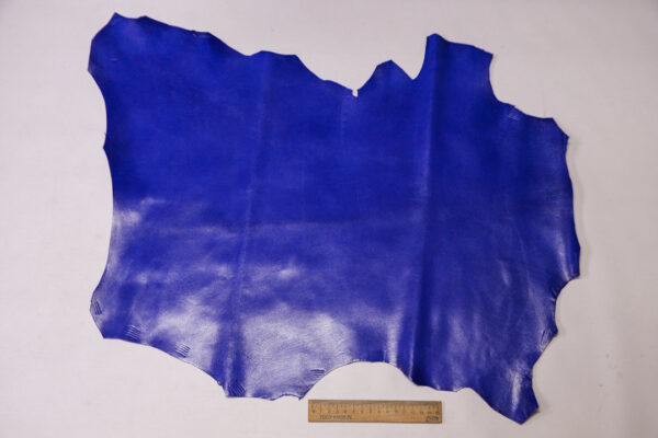 Кожа МРС, ярко синяя, 26 дм2, Russo di Casandrino S.p.A.-110609