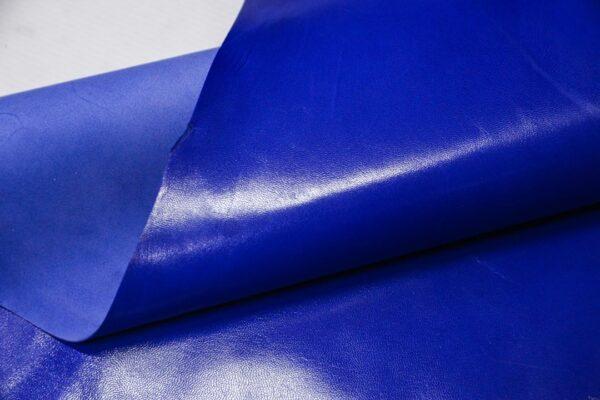 Кожа МРС, ярко синяя, 33 дм2, Russo di Casandrino S.p.A.-110610