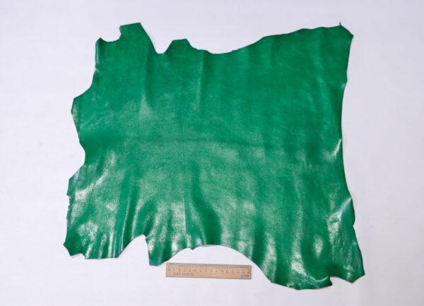 Кожа козы, зеленая, 27 дм2, Russo di Casandrino S.p.A.-110615
