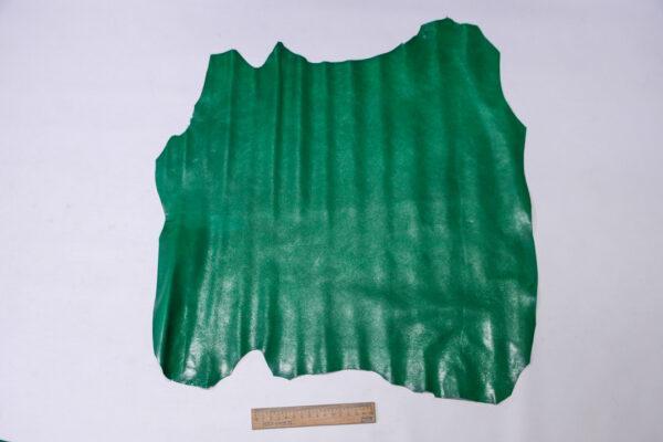 Кожа козы, зеленая, 26 дм2, Russo di Casandrino S.p.A.-110616