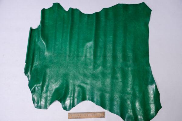 Кожа козы, зеленая, 30 дм2, Russo di Casandrino S.p.A.-110617