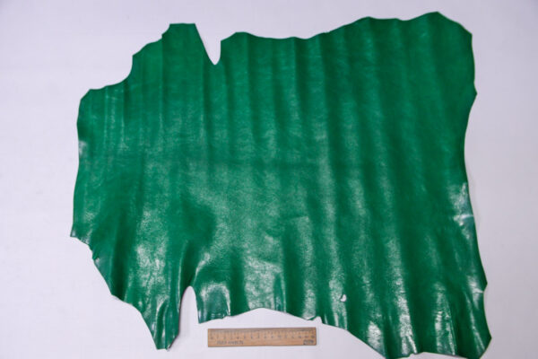 Кожа козы, зеленая, 31 дм2, Russo di Casandrino S.p.A.-110618