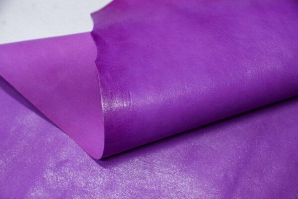 Кожа козы, светло фиолетовая, 28 дм2, Russo di Casandrino S.p.A.-110619